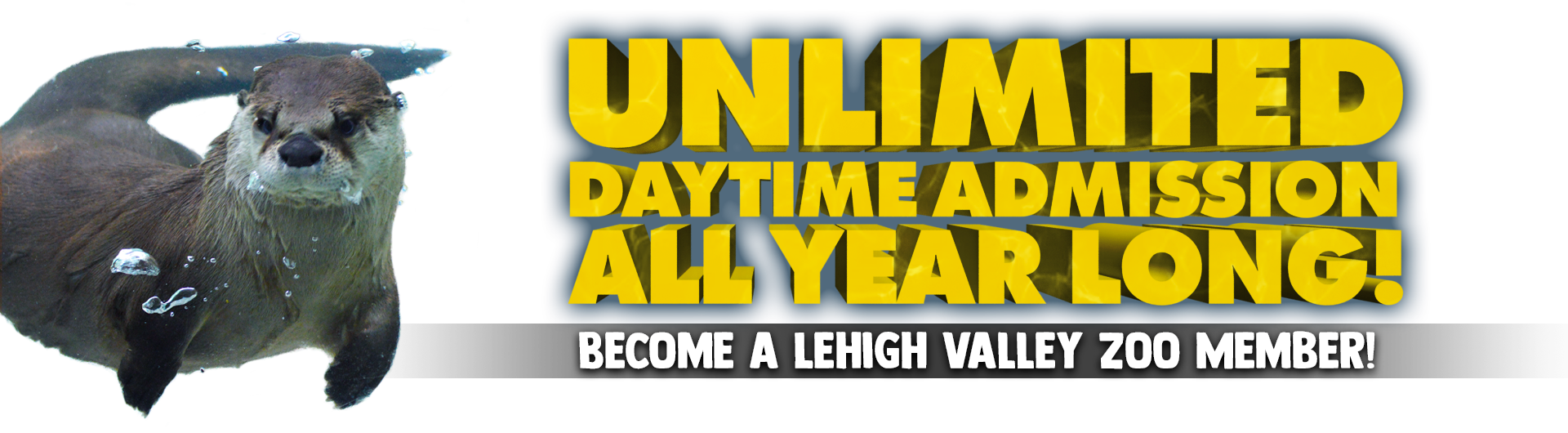 Unlimited Daytime Admission All Year Long! Become a Lehigh Valley Zoo Member