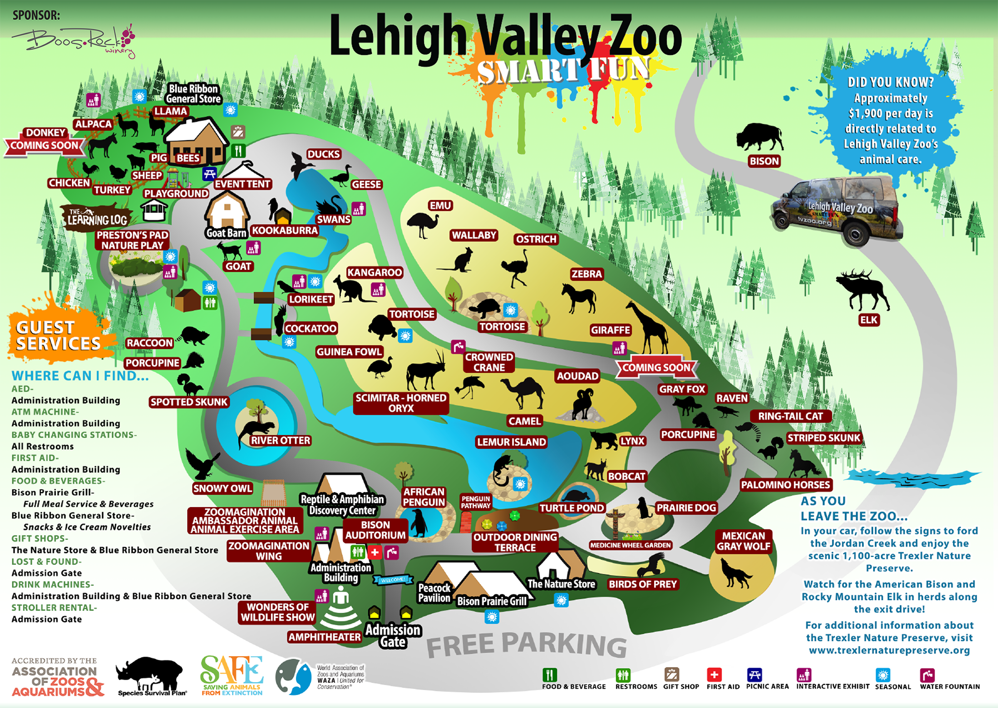 Directions To Lehigh Valley Zoo Pa 2017 2018 Best Cars