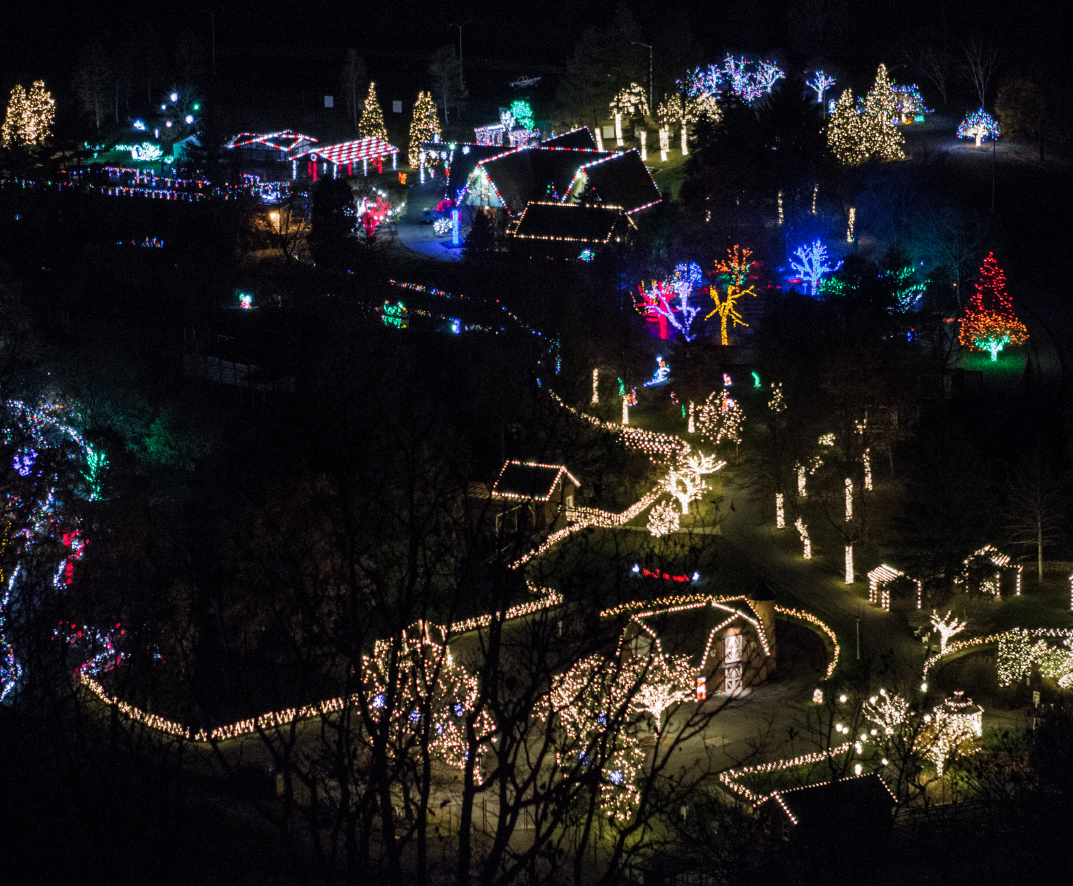 winter light spectacular map - Drive Through Christmas Lights Pa