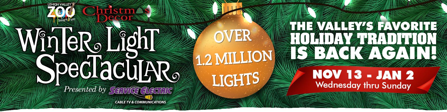 Winter Light Spectacular   Lehigh Valley Zoo