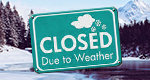 News graphic showing that the Zoo was closed on January 3 due to weather